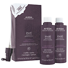 Buy AVEDA Invati Advanced™ Scalp Relitalizer Duo, 2 x 150ml Online at johnlewis.com
