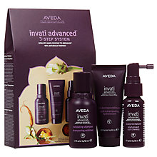 Buy AVEDA Invati Advanced™ 3-Step Travel Set Online at johnlewis.com