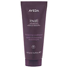 Buy AVEDA Invati Advanced™ Thickening Conditioner Online at johnlewis.com