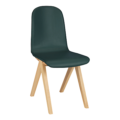 Bethan Gray for John Lewis Newman Leather Upholstered Dining Chair