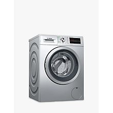 Buy Bosch WVG3047SGB Freestanding Washer Dryer, 7kg Load, A Energy Rating, 1500rpm Spin, Silver Online at johnlewis.com