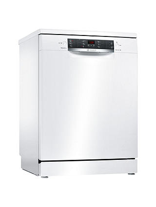 Buy Bosch SMS46IW05G Freestanding Dishwasher, White Online at johnlewis.com