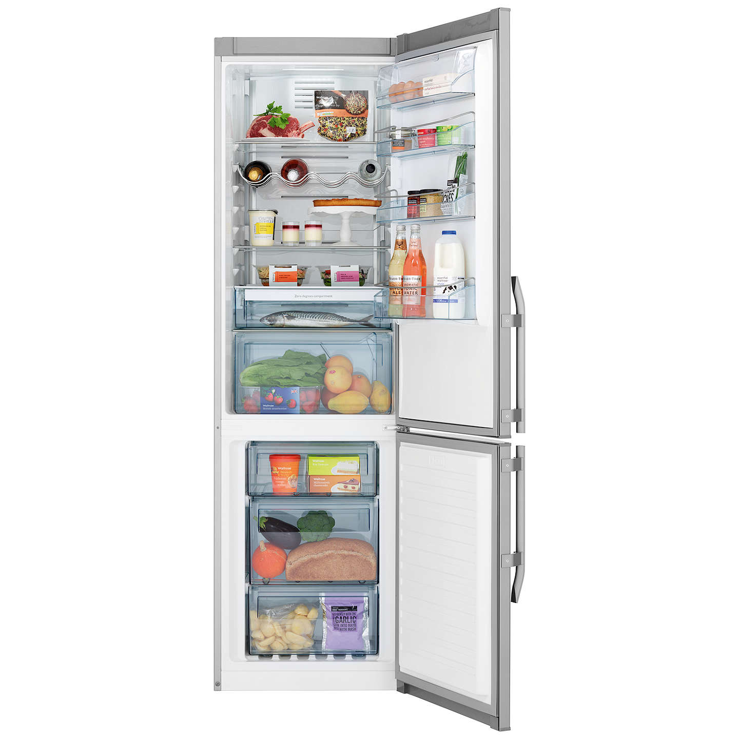 john lewis jlffs2033 freestanding fridge freezer a energy rating rh johnlewis com Zero Hedge Coke Zero