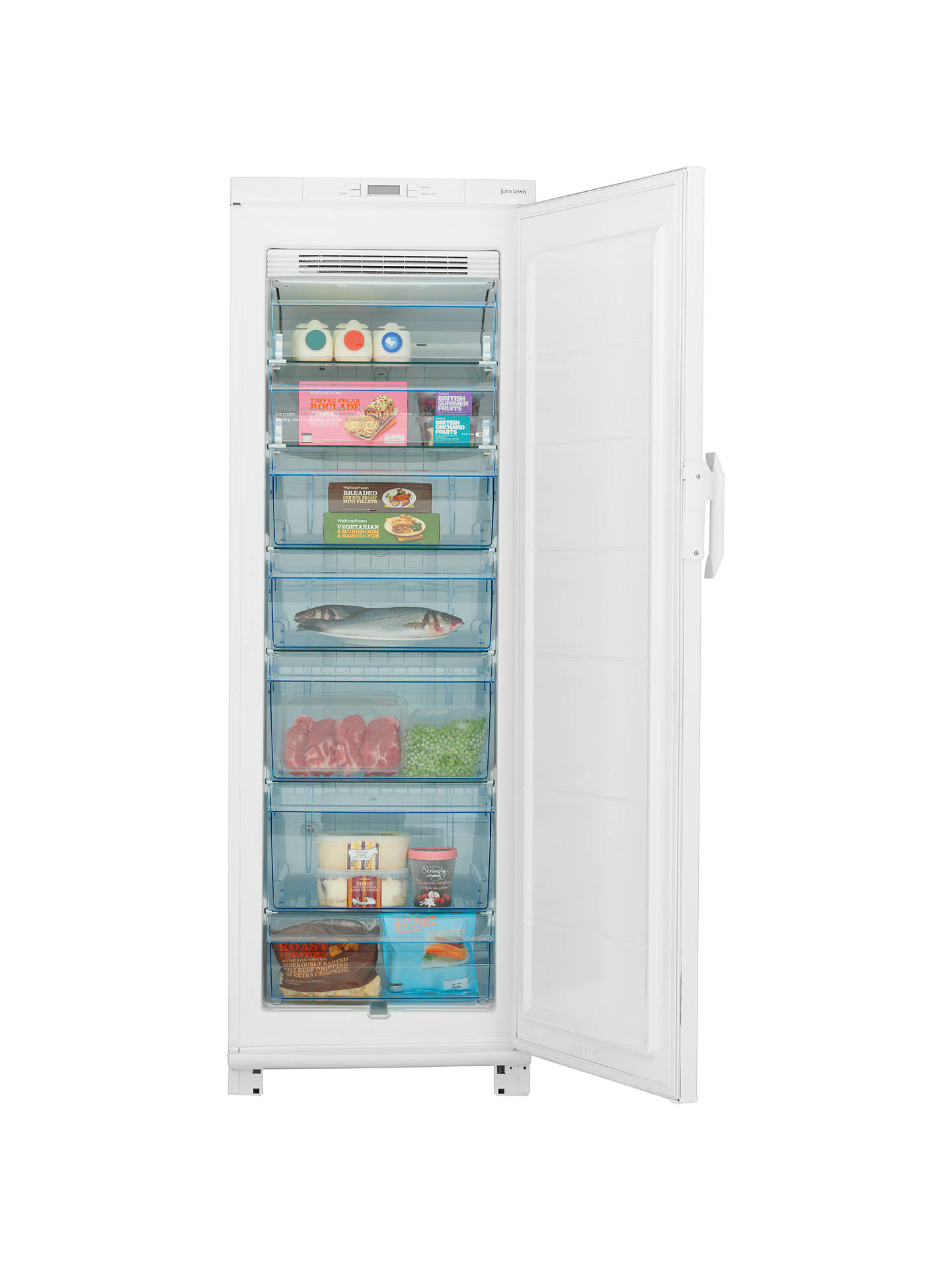 john lewis jlucfzw6010 frost free freezer manual