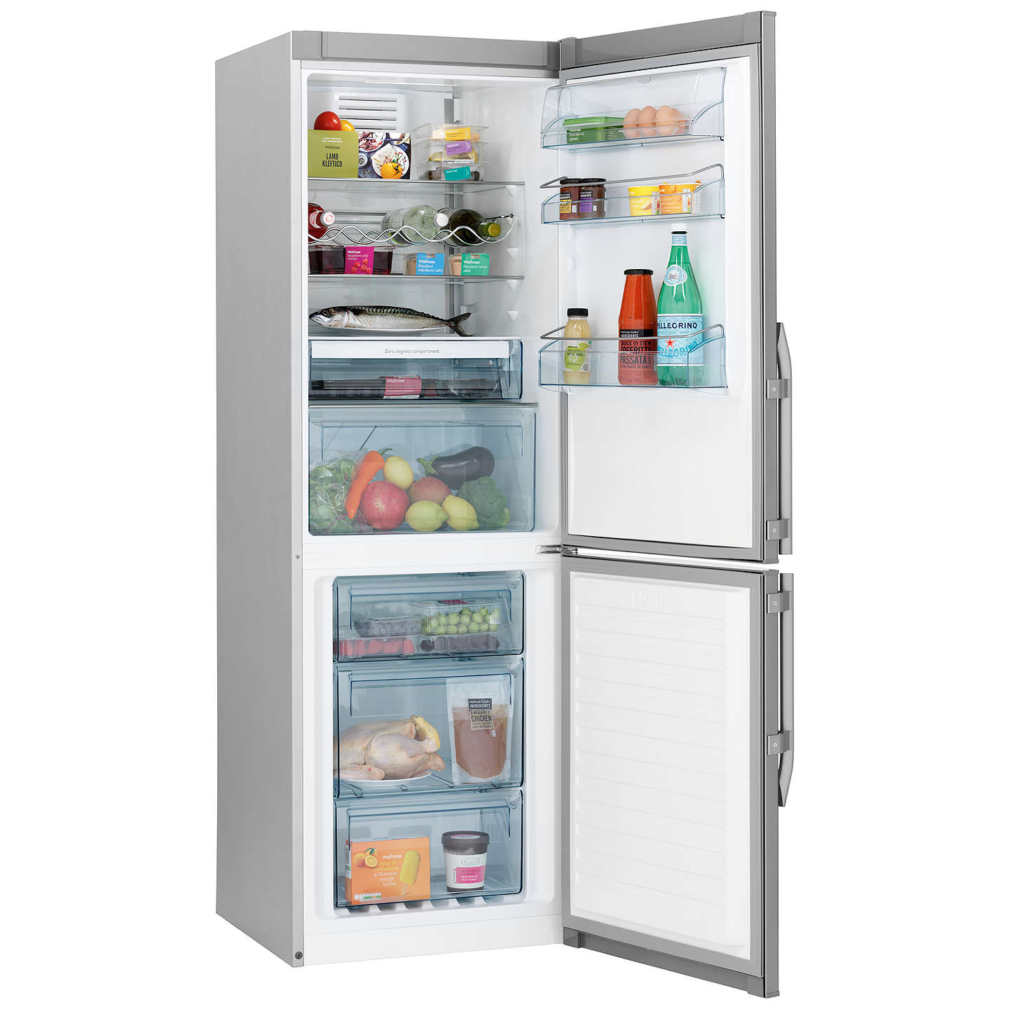 john lewis jlffs1833 freestanding fridge freezer a energy rating rh johnlewis com Zer Ands Portal Zer Name