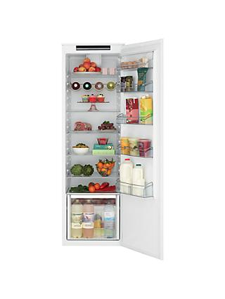 John Lewis & Partners JLBILIC08 Tall Integrated Larder Fridge, A+ Energy Rating, 54cm Wide