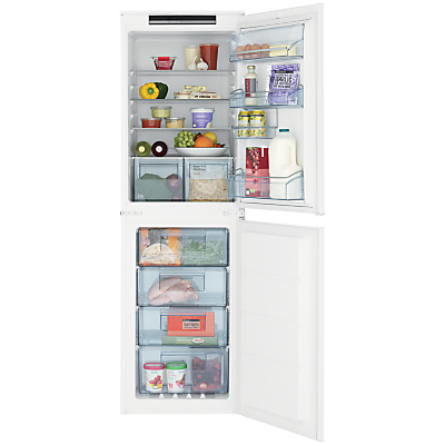 John Lewis & Partners JLBIFF1811 Integrated Fridge Freezer, A+ Energy Rating, 54cm Wide