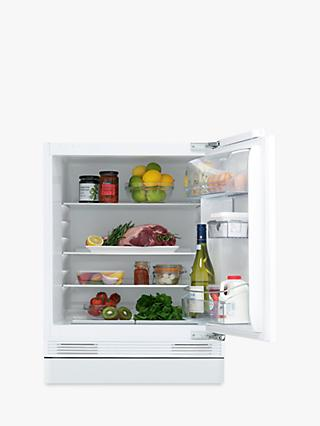John Lewis & Partners JLBIUCL06 Integrated Undercounter Larder Fridge, A++ Energy Rating, 60cm Wide