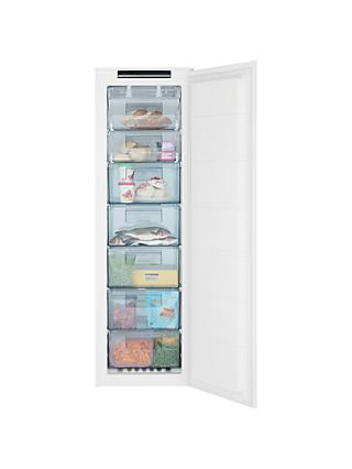 John Lewis & Partners JLBIFIC06 Tall Integrated No Frost Freezer, A+ Energy Rating, 54cm Wide