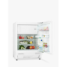 Buy John Lewis JLBIUCFR07 Integrated Undercounter Fridge with Freezer Compartment, A++ Energy Rating, 60cm Wide Online at johnlewis.com