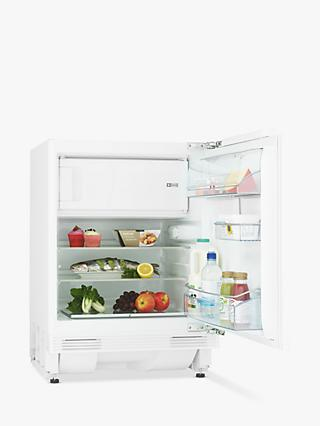 John Lewis & Partners JLBIUCFR07 Integrated Undercounter Fridge with Freezer Compartment, A++ Energy Rating, 60cm Wide