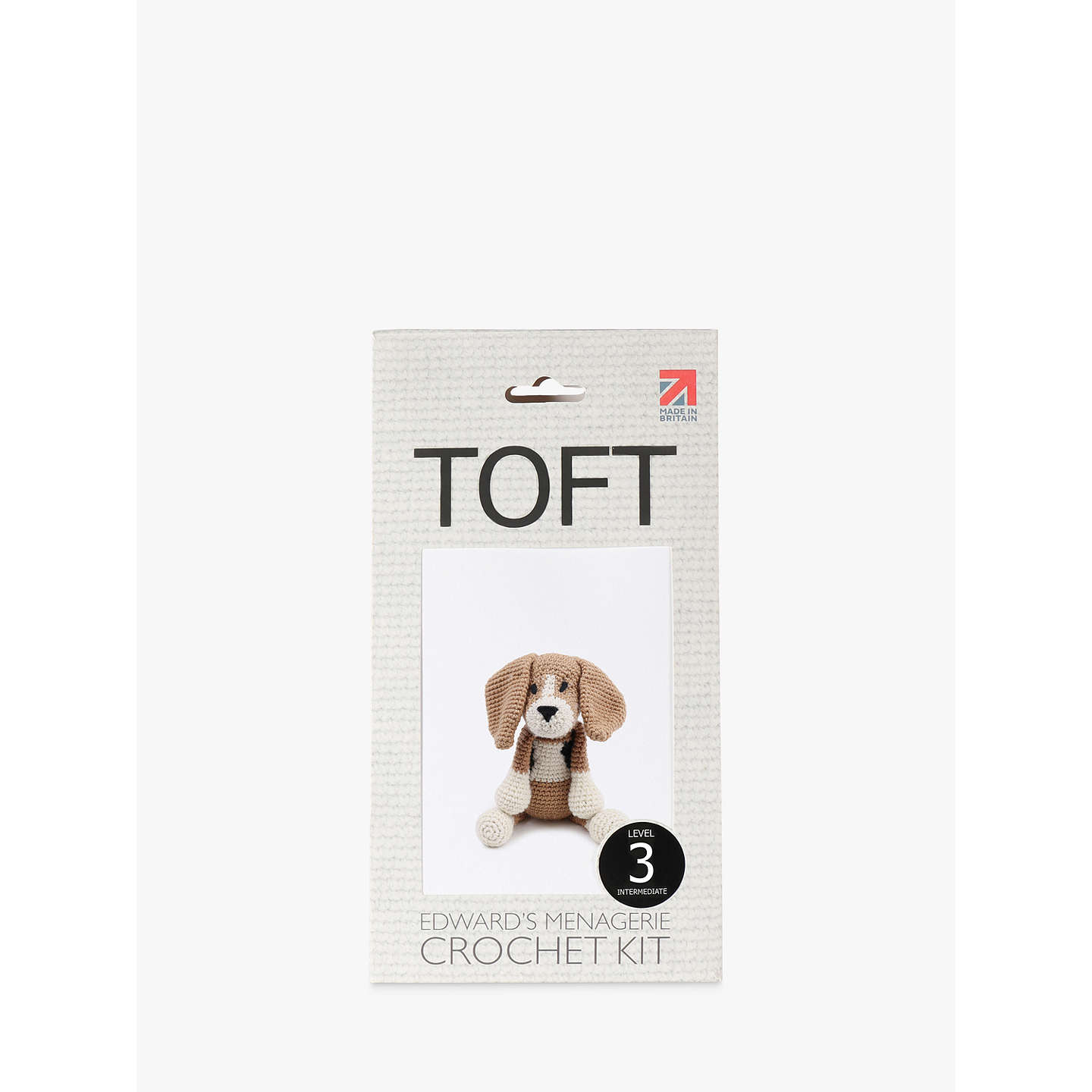 BuyToft Lola The Beagle Crochet Kit Online at johnlewis.com