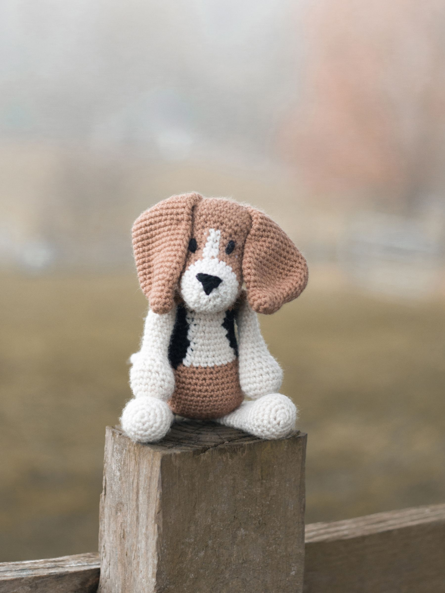 Ravelry: Lily Baby Beagle Amigurumi Stuffed Puppy Dog pattern by ... | 2400x1800