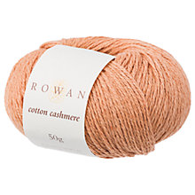 Buy Rowan Cotton Cashmere DK Yarn, 50g Online at johnlewis.com
