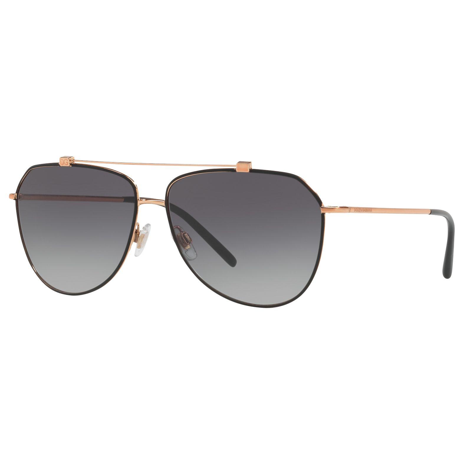 Dolce & Gabbana Dolce & Gabbana DG2190 Aviator Sunglasses, Gry Grd
