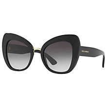 Buy Dolce & Gabbana DG4319 Cat's Eye Sunglasses Online at johnlewis.com