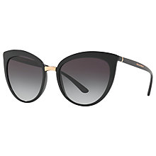 Buy Dolce & Gabbana DG6113 Cat's Eye Sunglasses Online at johnlewis.com