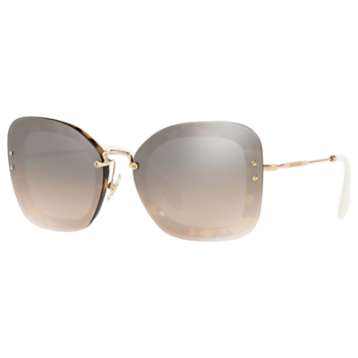 Miu Miu MU 02TS Rectangular Sunglasses