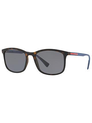 8f25a6aca91 Prada Linea Rossa PS 01TS Men s Polarised Rectangular Sunglasses
