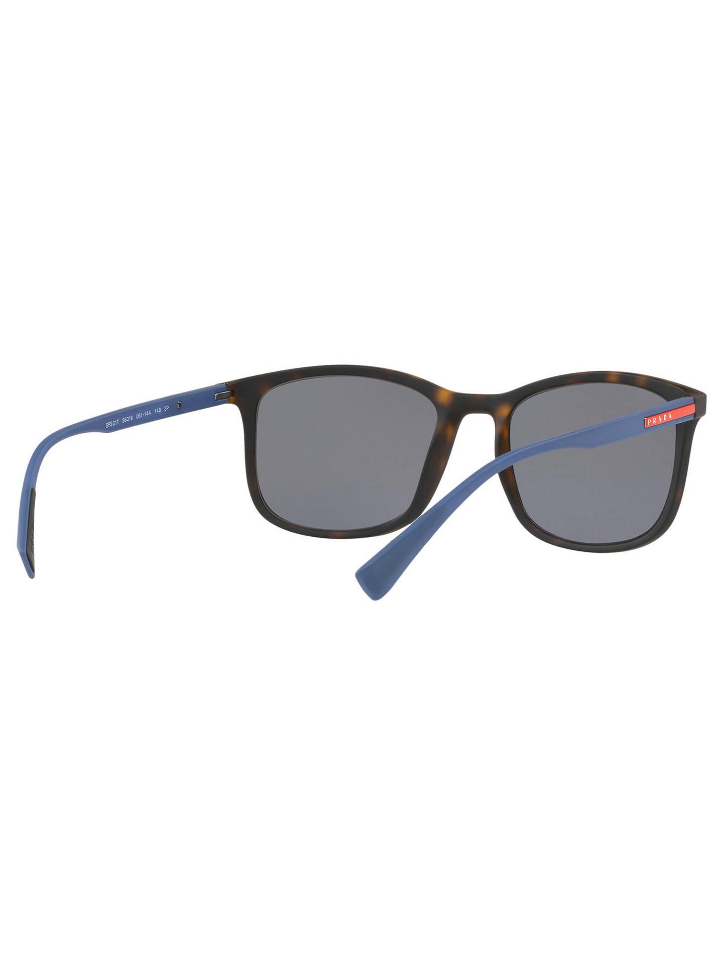 df9d049329 Prada Linea Rossa PS 01TS Men  39 s Polarised Rectangular Sunglasses at  John Lewis