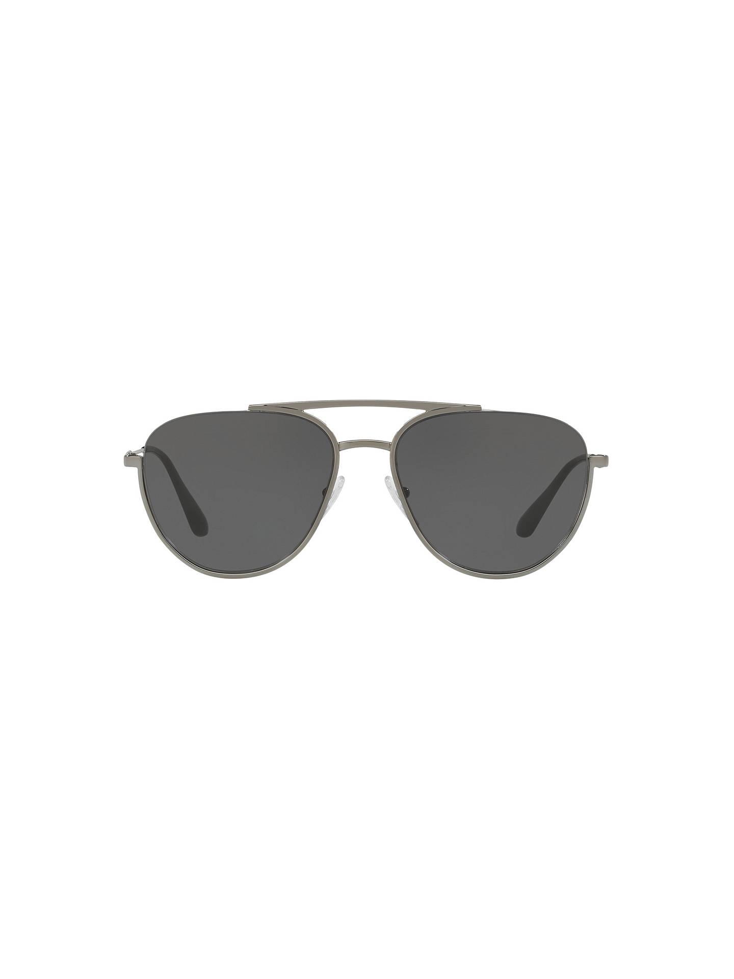 04c328d9f223 Prada PR 50US Men s Oval Sunglasses at John Lewis   Partners