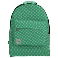 Buy Mi-Pac Microdot Backpack, Leaf Green Online at johnlewis.com