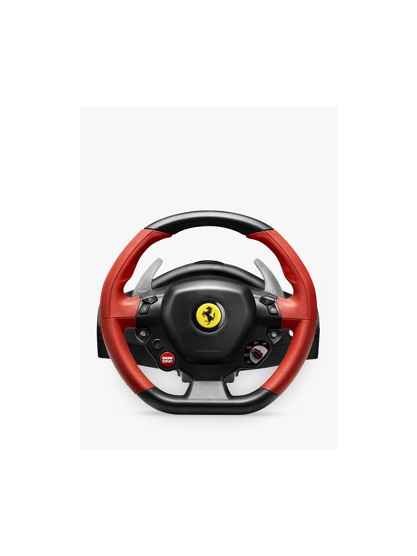 Thrustmaster Ferrari 458 Spider Racing Wheel for Xbox One at John Lewis & Partners