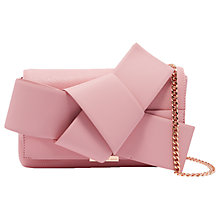 Buy Ted Baker Agentah Leather Cross Body Bag Online at johnlewis.com