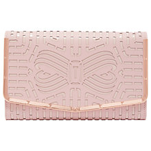 Buy Ted Baker Bree Clutch Bag, Light Pink Online at johnlewis.com