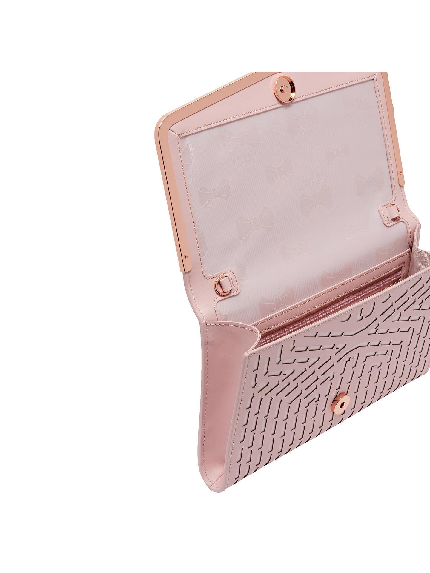 78c18972e69 ... Buy Ted Baker Bree Clutch Bag, Light Pink Online at johnlewis.com ...