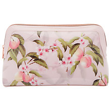 Buy Ted Baker Brenton Peach Blossom Wash Bag, Light Pink Online at johnlewis.com
