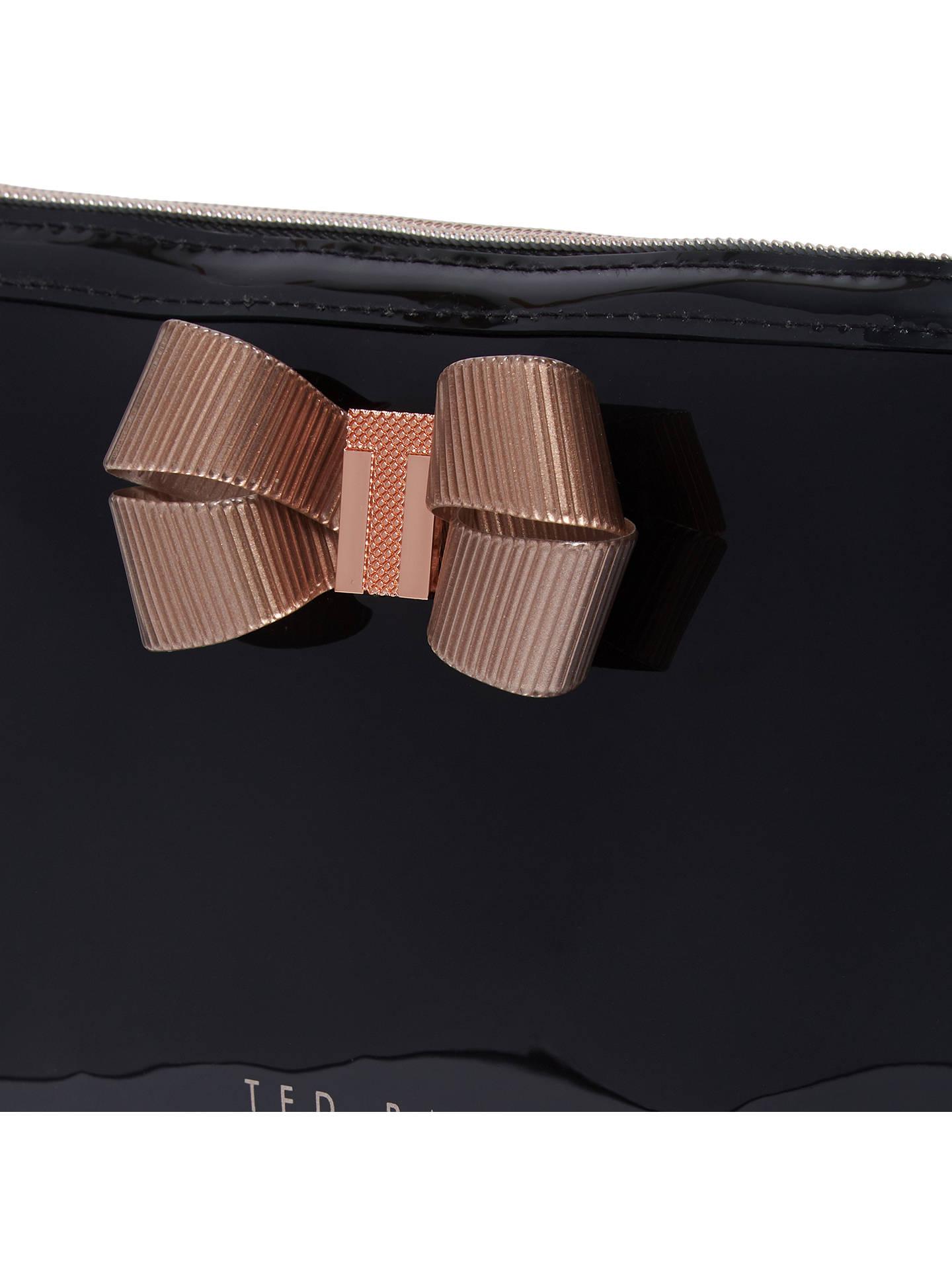 69e98bef3b ... Buy Ted Baker Libbert Wash Bag, Black Online at johnlewis.com ...