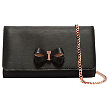 Buy Ted Baker Melisia Leather Cross Body Purse Online at johnlewis.com