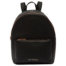 Buy Ted Baker Pearen Leather Backpack Online at johnlewis.com