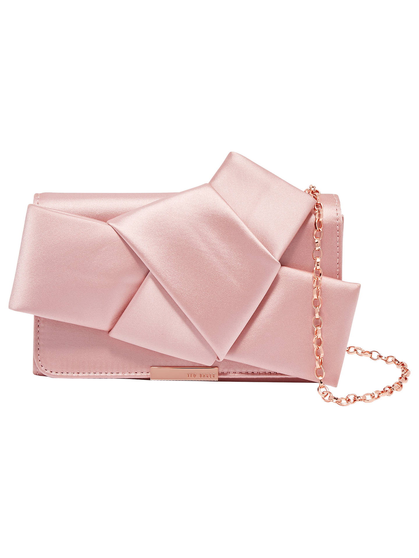 Ted Baker Fefee Knot Bow Evening Bag At John Lewis Amp Partners