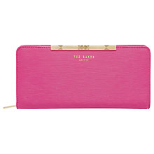 Buy Ted Baker Yasmine Leather Matinee Purse Online at johnlewis.com