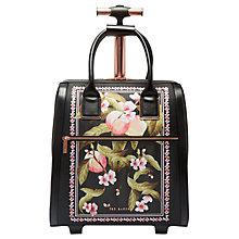 Buy Ted Baker Riorio Peach Blossom Travel Bag, Black Online at johnlewis.com