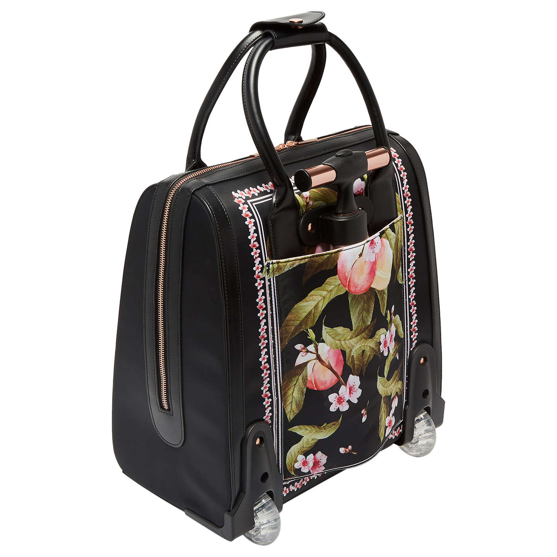 Ted Baker Riorio Peach Blossom Travel Bag Black At John Lewis