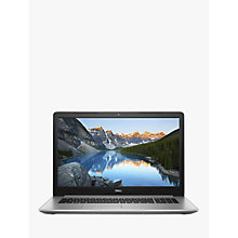 "Buy Dell Inspiron 17 5000 Laptop, Intel Core i5-8250U, 8GB RAM, 1TB HDD + 128GB SSD, 17.3"" Full HD, Silver Online at johnlewis.com"