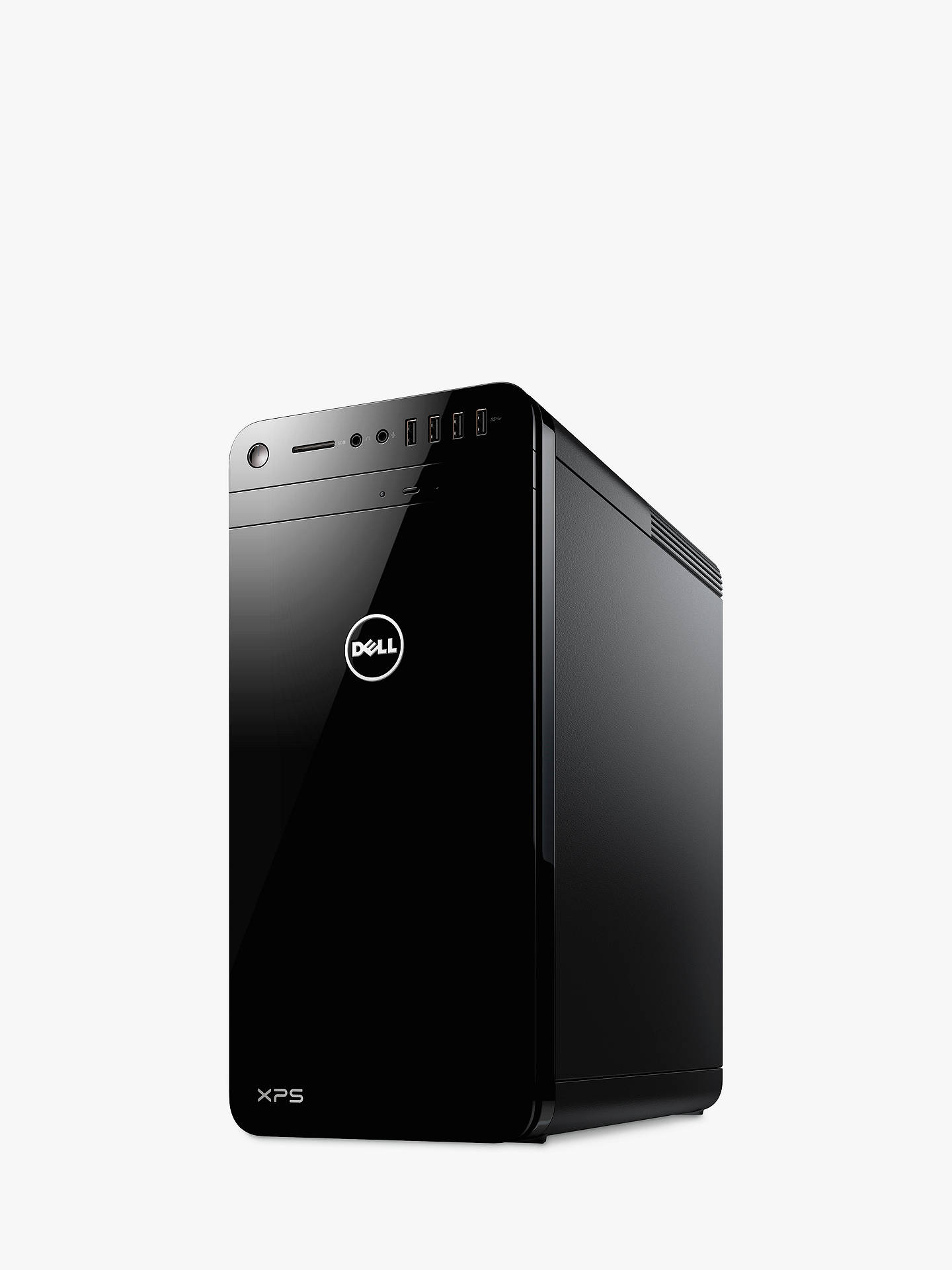 Buy XPS 8900 Desktop, Intel Core i7, 8GB RAM, 1TB HDD + 16GB Intel Optane Memory, Nvidia Geforce GTX 1060, Black Online at johnlewis.com