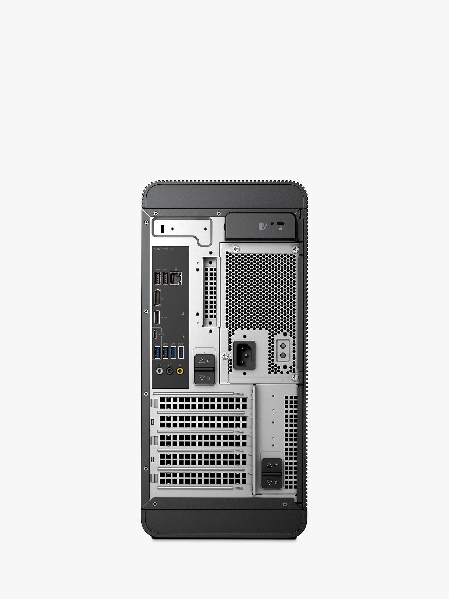 XPS 8900 Desktop, Intel Core i7, 8GB RAM, 1TB HDD + 16GB Intel Optane  Memory, Nvidia Geforce GTX 1060, Black