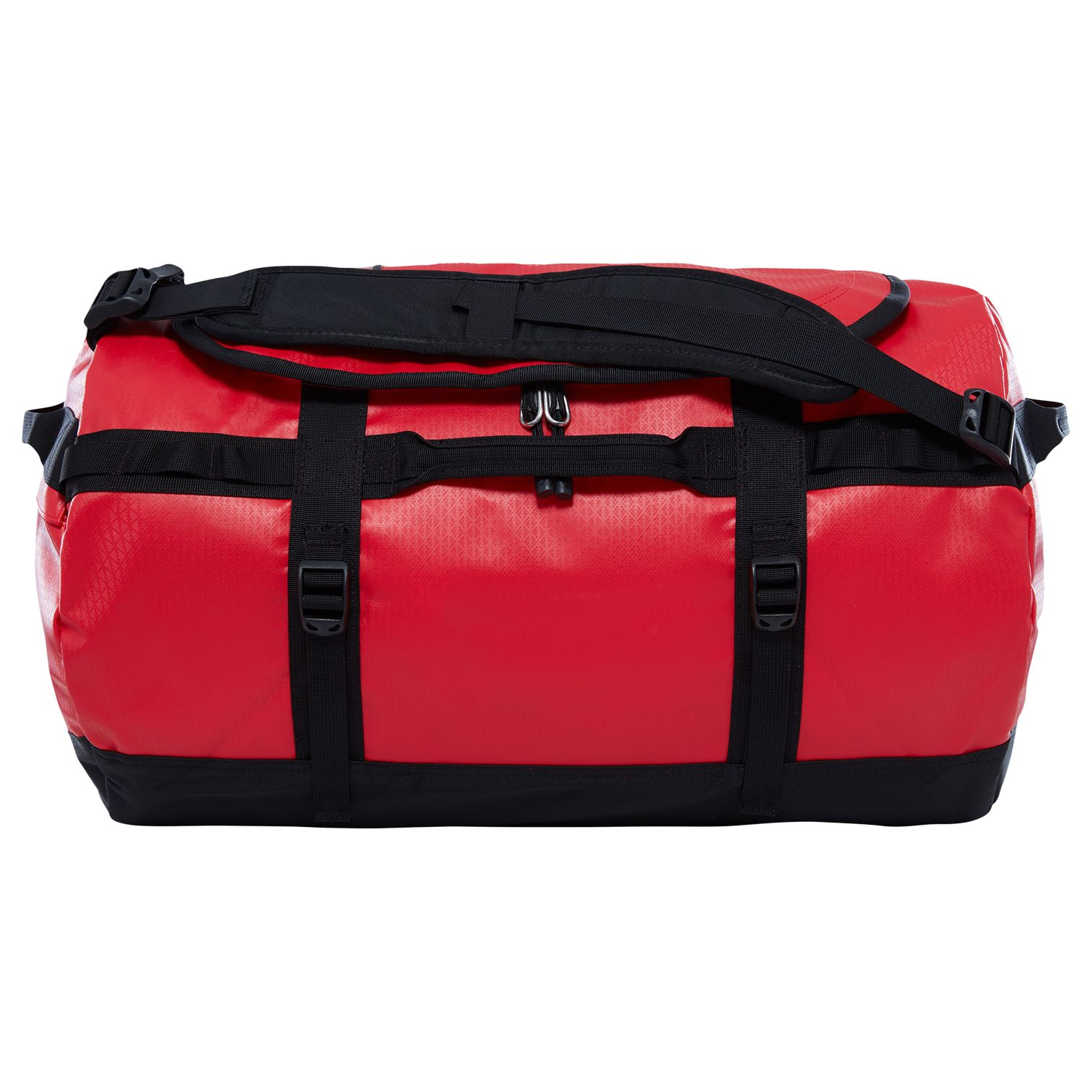 1fe68101ef The North Face Base Camp Duffle Bag, Small, Red at John Lewis & Partners