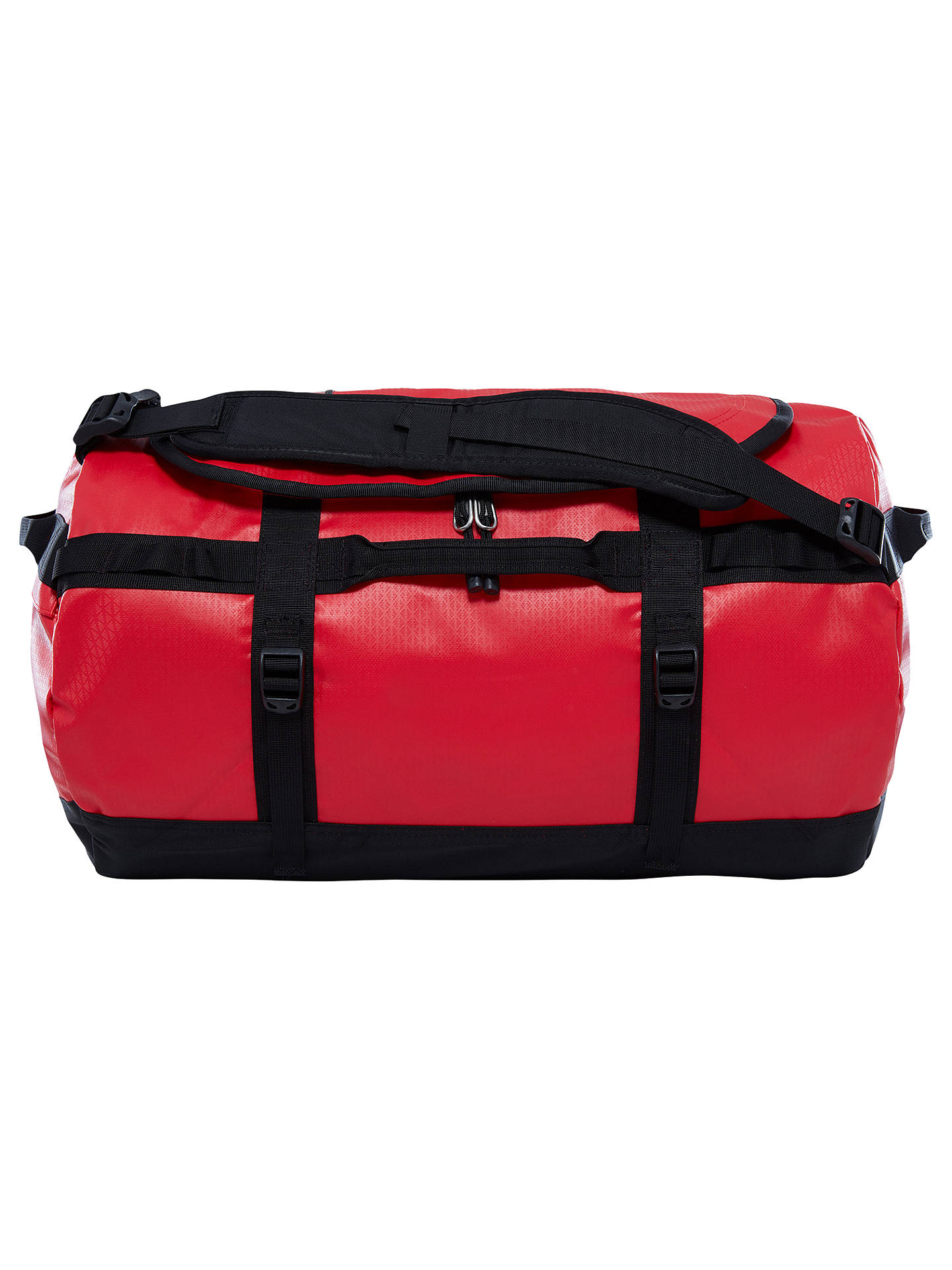 BuyThe North Face Base Camp Duffle Bag, Small, Red Online at johnlewis.com  ... d798fc1f05