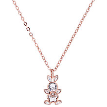 Buy Ted Baker Alanddro Rabbit Swarovski Crystal Pendant Necklace Online at johnlewis.com