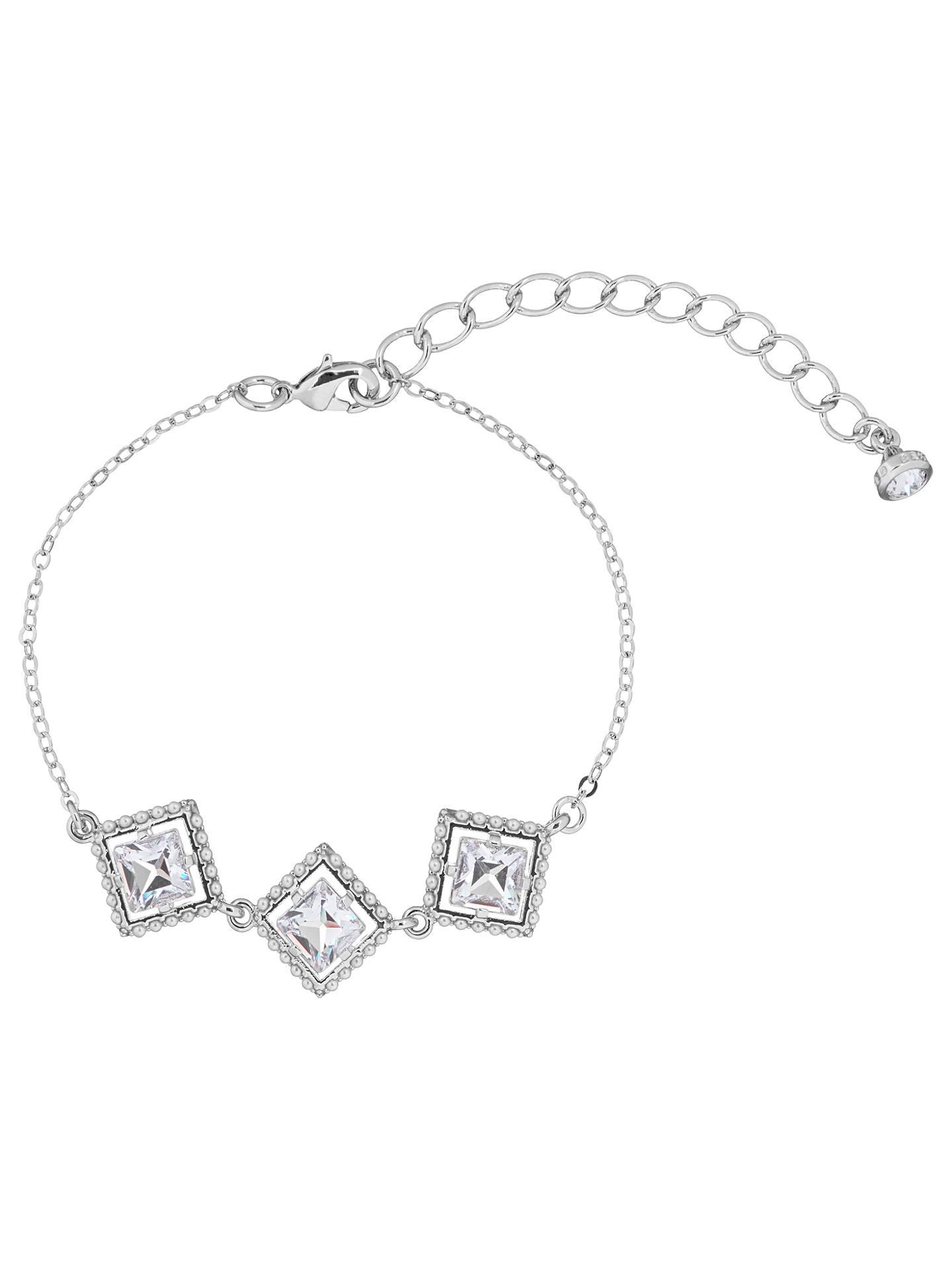 Ted Baker Palilla Faux Pearl Frame Swarovski Crystal Chain Bracelet ...