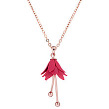 Buy Ted Baker Fllora Drop Flower Pendant Necklace Online at johnlewis.com