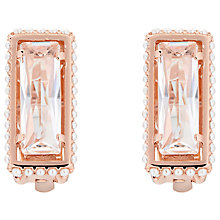 Buy Ted Baker Pearl Crystal Earrings, Rose Gold Online at johnlewis.com