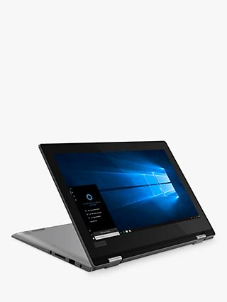"Lenovo YOGA 330 81A60009UK Convertible Laptop, Intel Celeron N4000, 4GB, 128GB eMMC, 11.6"", Mineral Grey"