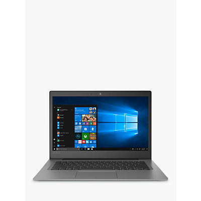 "Image of Lenovo IdeaPad 120S 81A5002UUK Laptop, Intel Celeron N3350, 4GB RAM, 32GB eMMC, 14"", Mineral Grey"