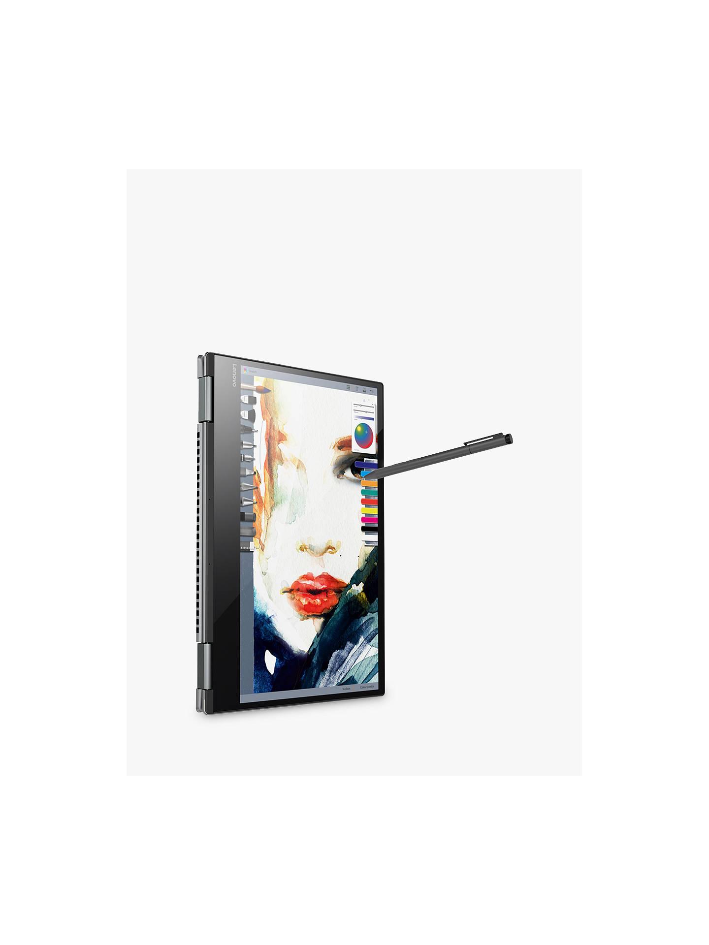 "Lenovo Yoga 720 Convertible Laptop with Active Pen, Intel Core i7, 8GB RAM,  256GB SSD, 13 3"" Full HD, Iron Grey"
